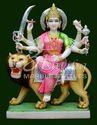 Marble Durga Idol