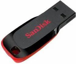Sandisk Pendrive, Memory Size: 16 GB