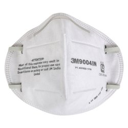 Reusable Standard 3M 9004IN Face Mask, Number of Layers: 5