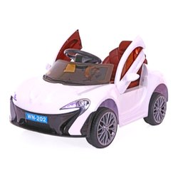 Kids 6V Battery Operated Toyhouse Rechargeable Mini Car