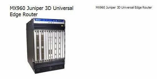 Juniper MX Series 3D Universal Edge Routers - MX960