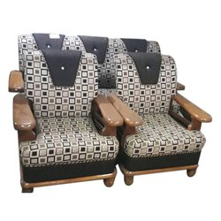 5 Seater Pure Teakwood Sofa Set Sofa Set Jyoti Furniture Nagpur