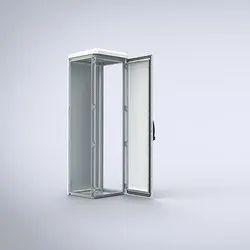Stainless Steel, Aluminium White Mild Steel Single Door, For Commercial