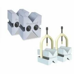 Hardened and Ground Block With Clamp