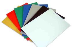 Colored PVC Sunboard Sheet