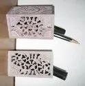 Soapstone Pen Holder