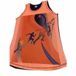 plain micro cloth Sleeveless Mens / Ladies Running sandow vest