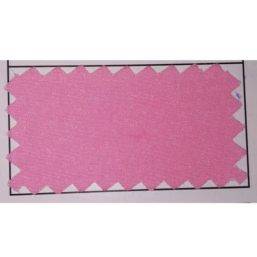 Cotton And Also Available In Poly Cotton Pink School Uniform Fabric, GSM: 100 - 150