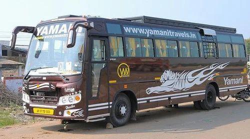 Hitech Non AC Bus Booking Service & Hitech Non AC Push Back