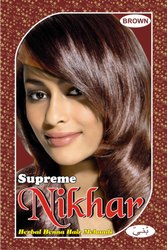 Supreme Nikhar Brown Hair Mehandi