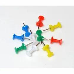 Plastic & Steel Push Pins, 3200 Pieces Per Kg, Size: 20 Mm