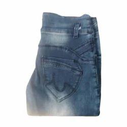 Regular Fit Plain Ladies Denim Jeans, Waist Size: 32