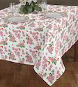 Multi Airwill Rose Printed Table Cloth, Size: 140 X 180 Cm