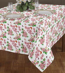Rose Printed Table Cloth