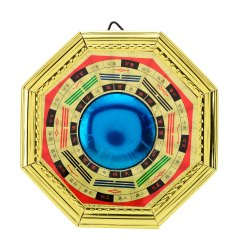 Kesar Zems Feng shui Bagua Multicolor Bagua Mirror