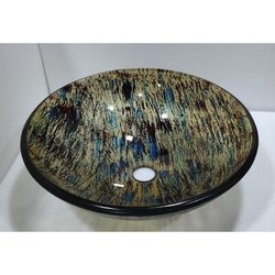 Countertop Bathroom Glass Wash Bowl