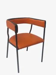 Restaurant Hotel Chair LHC 253 Metal Chair with Cushion Gst. Transport Extra
