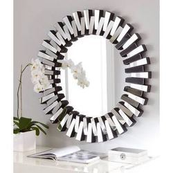 Glass Wall Mounted 3D Round Mirror