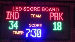 Cricket Score LED Display Board
