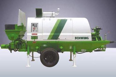 Schwing SP 1200 Concrete Pump, Capacity: 400 Litre   ID