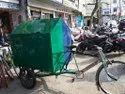 Metal Garbage Rikshaw