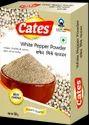 Cates White Pepper Powder, Packaging: 50 G