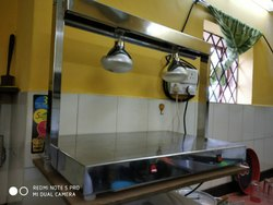 30W Steel Infrared Food Warmer, For Commercial