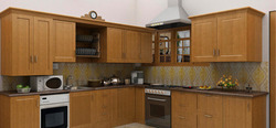 Modular Wooden Kitchen