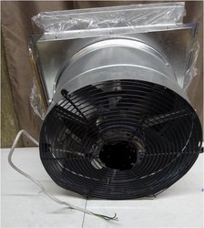 Bifurcated Axial Fan