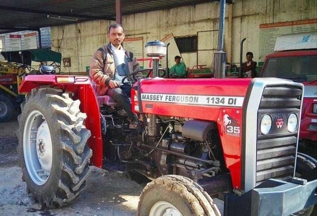 Massey Ferguson 1134 DI, 35 hp Tractor, 1100 kgf