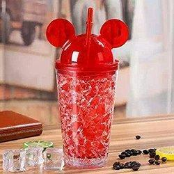 Plastic Mug Mickey Bottle-0065