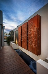 Corten Steel Panels / Boxes