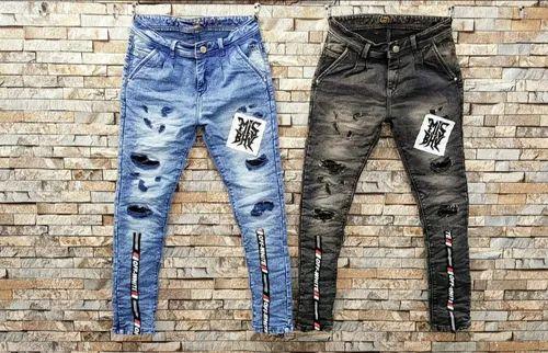 Denim Casual Wear Men S Rugged Jeans