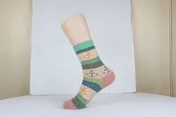 Ladies Woolen Short Winter Socks
