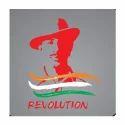 Car Back Revolution Bhagat Singh Stickers