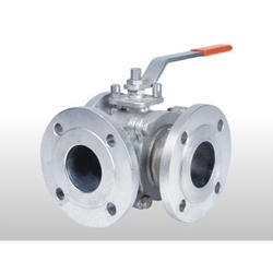 CW Series 3 Way Ball Valve