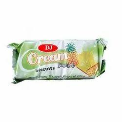 DJ Cream Biscuits 53 Gram Creams Biscuit, Packaging Type: Packet