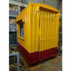 Prefabricated GI Security Cabin