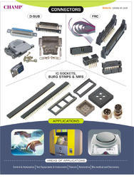 D - Sub  / FRC Connectors  / IC Socket  & Burg Strip