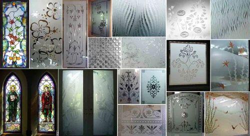 Glass Work, Dimension: Less Than 500 Sq.ft