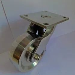 Stainless Steel 304 100x38mm With SS 304 Trolley Wheels