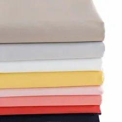 Plain Cotton Shirting Fabric, GSM: 100-150