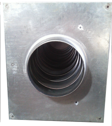 SMI ASSEMBLY PANEL Square Fan Housing, For Ship Exhaust, Size: 685X450MM