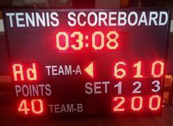 Tennis LED Score Board