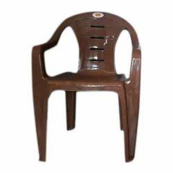 Nakoda Brown Plastic Chair, Height: 36 inch
