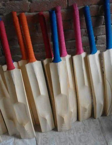 "Screen Land Polished Poplar Tennis Cricket Bat, Size: 34""~36"""