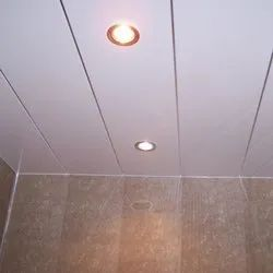 White PVC Ceiling Panel, Thickness: 8 mm, for Office