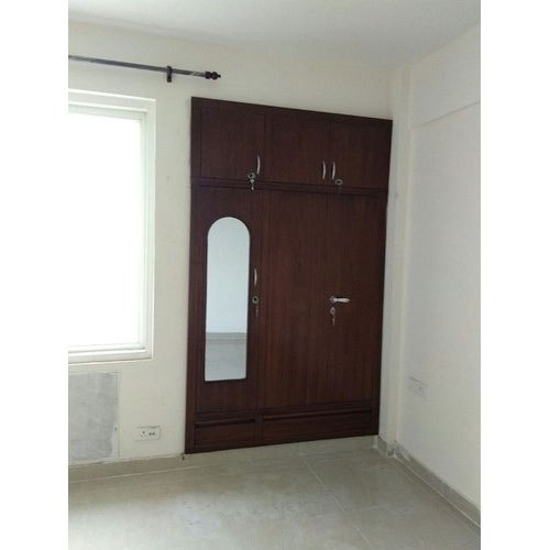 Brown Steel Wardrobe