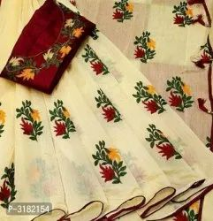 Embroidered Casual Wear Ladies Cotton Kurtis, more than 23