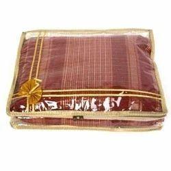 Plain Saree Packing Plastic Bag